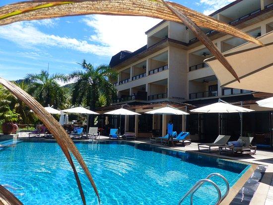 Anse Forbans, Σεϋχέλλες: terrasse avec piscine et espace détente