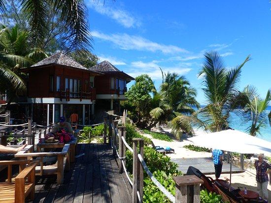 Anse Forbans, Σεϋχέλλες: des chambres et la plage (accès direct depuis la terrasse)