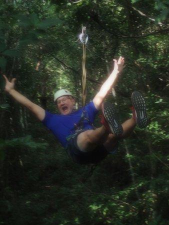 Edventure Tours: Zip line was a blast.