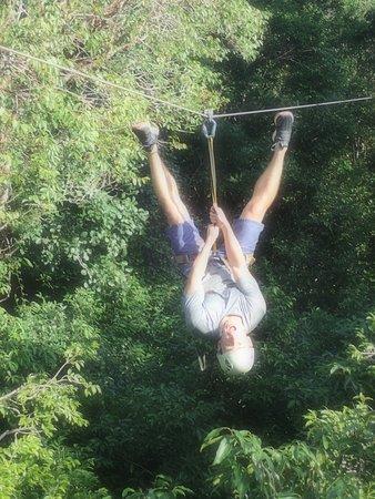 Edventure Tours: upside down