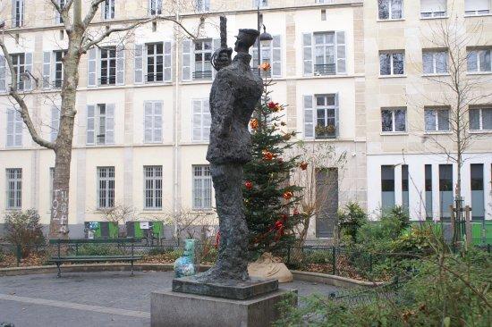 Statue du capitaine Dreyfus