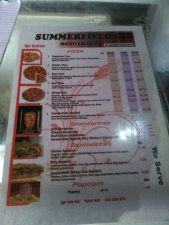 Summerfields Pizza Kumasi Restaurant Reviews Photos Phone Number Tripadvisor