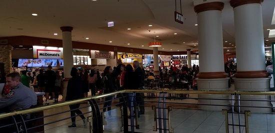 Crabtree Valley Mall Food Court