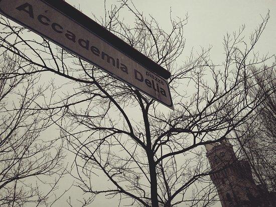 Piazza Accademia Delia