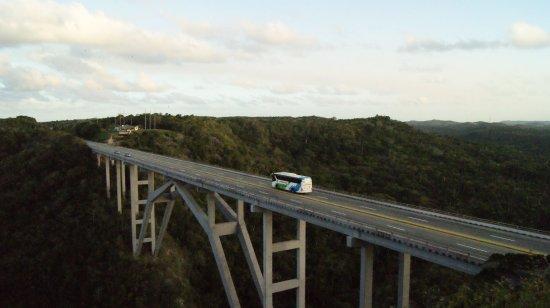 Matanzas Province, Cuba: Puente de bacunayagua
