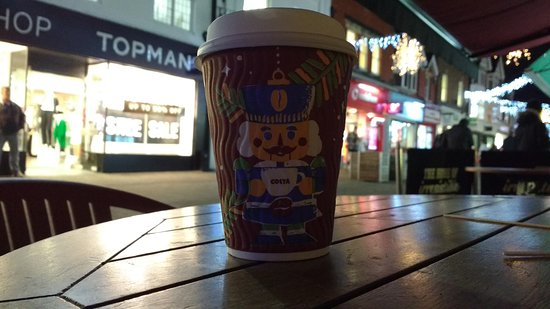 Christmas 2017 Small Coffee Cup Design Picture Of Costa