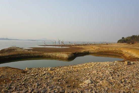 Yixing, Китай: östliche Seeseite