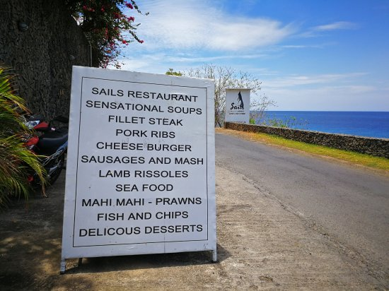 Come On In Folks Picture Of Sails Restaurant Amed Tripadvisor