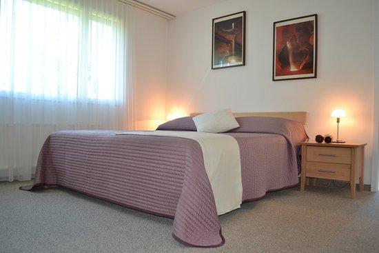 Obersaxen, Switzerland: Schlafzimmer