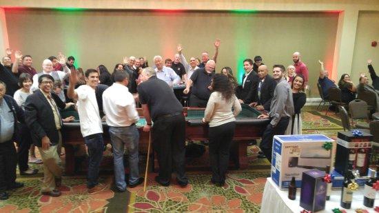 Airtel Plaza Hotel: Casino Night at the Gulfstream banquest room.