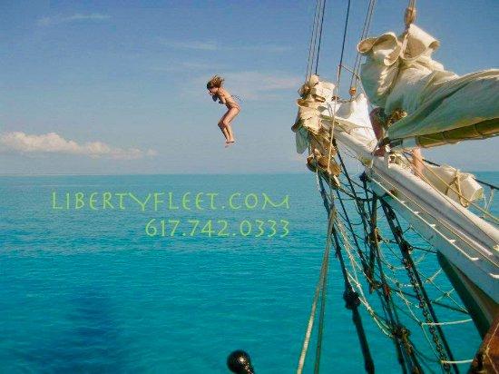 Liberty Fleet of Tall Ships: Join the schooner Liberty Clipper in the Bahamas (November to May)