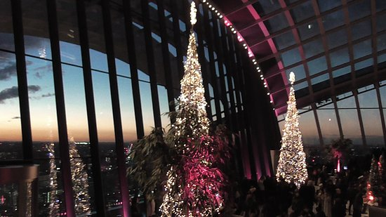 London At Christmas Time.Sky Garden At Christmas Time Picture Of Sky Garden London