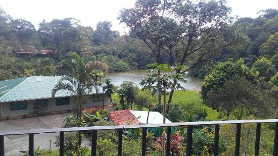 Nuevo Arenal, Costa Rica: View from the Butterfly Room.