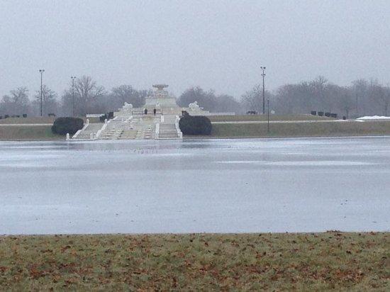 Belle Isle Park: Water Fountain