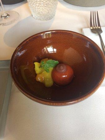 Dilsen-Stokkem, België: pittig tomaatgerechtje