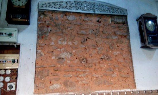 Historical Mansion Museum : Original bricks of the mansion