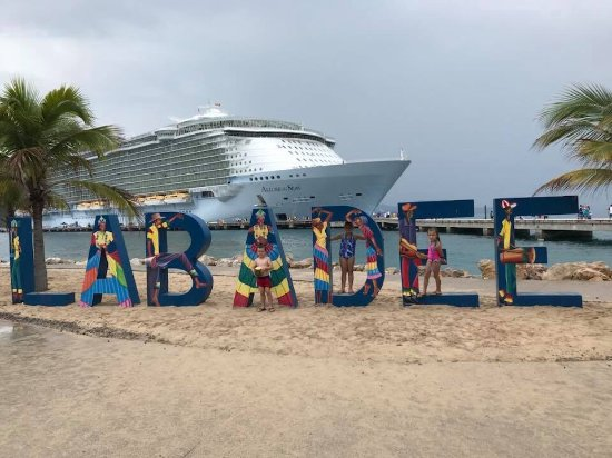Royal Caribbean cruise port of call - Picture of Labadee
