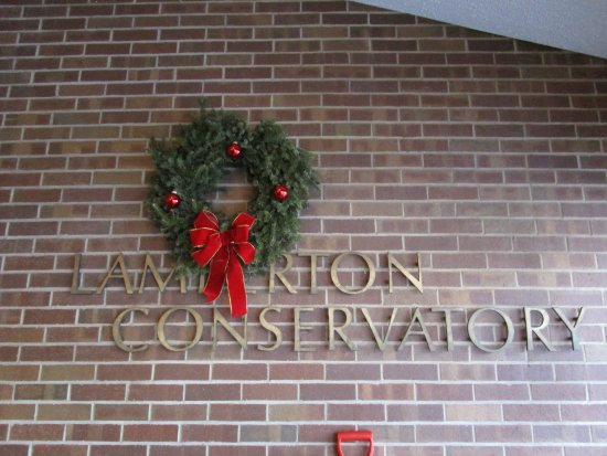 Highland Botanical Park And Lamberton Conservatory Christmas Greeting From