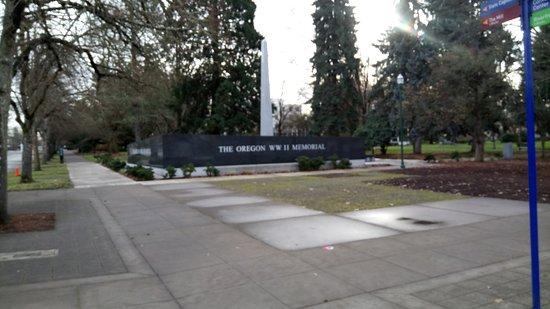 Salem, OR: The Oregon War Memorial