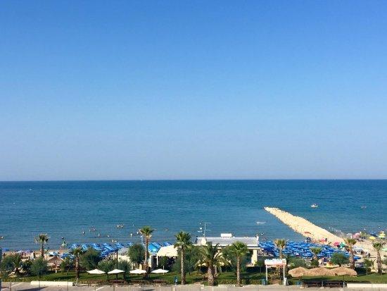 Silvi Marina, Italy: Panoramica dall'alto del Lido Mar Del Plata