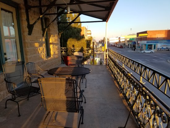 Hotel Eklund: Balcony view