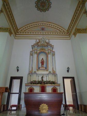 Serraria, PB: Interior da Igreja