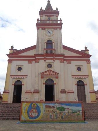Serraria, PB: Fachada da Igreja
