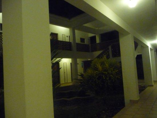 Diani Sea Lodge : Patio w części superior