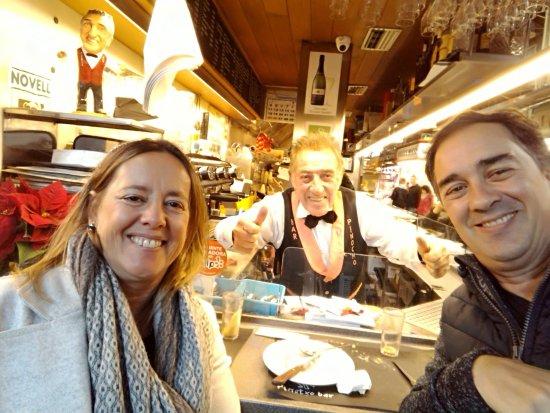 Bar Pinotxo: Con Pinotxo