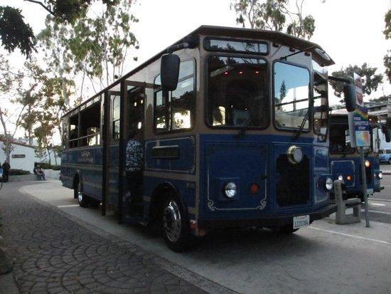 Laguna Beach: free bus