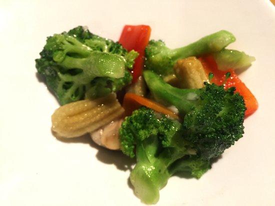 Makimono Restaurant: Mixed Stir Fry Vegetables
