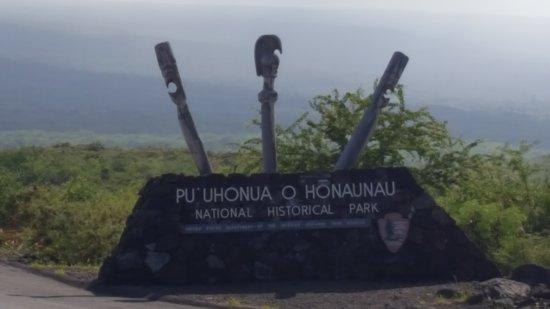 Honaunau, Hawaï : Entry