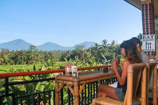 Ταμπανάν, Ινδονησία: enjoying hot chocolate in cau restaurant
