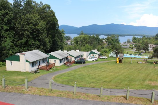 Balcony - Picture of Hill View Motel and Cottages, Diamond Point - Tripadvisor