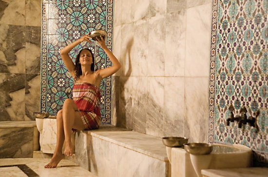 Turkish Bath with Peeling Foam and...