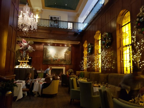 Where the Russian Tea is held at the Heathman Hotel