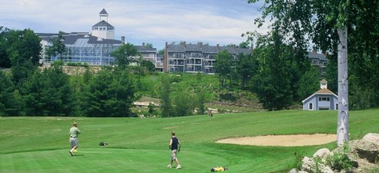 Steele Hill Resorts: Golf course