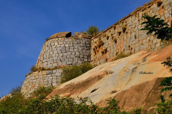Chikkaballapura District, Ấn Độ: Gudibande Fort