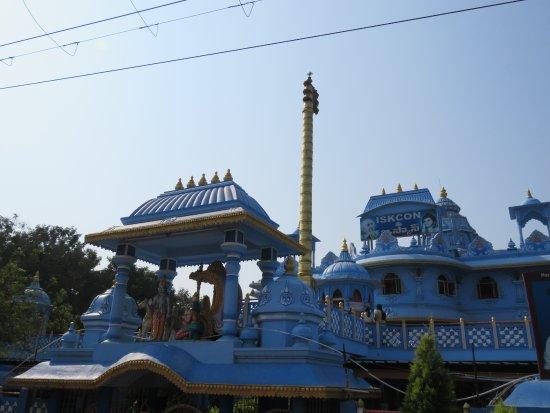 ISKCON Rajahmundry, Sri Sri Radha Gopinath Temple: Temple
