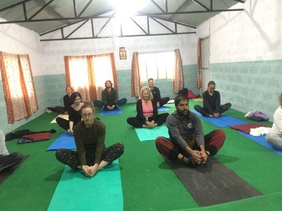 Atmashree Yoga Retreat: lunch time