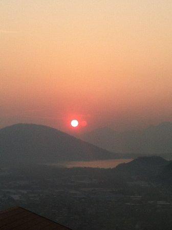 Il Riccio di Ricciano: alba