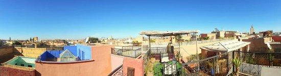 Riad Dar Tiflet : Terrasse