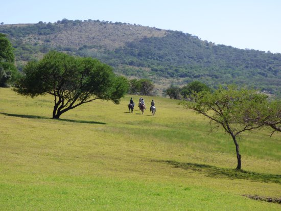 Rorke's Drift, South Africa: Great horse riding