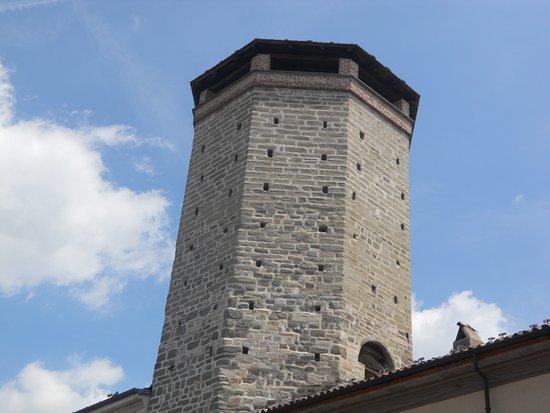 Chivasso, Italie : L'antica Torre ad ottagono