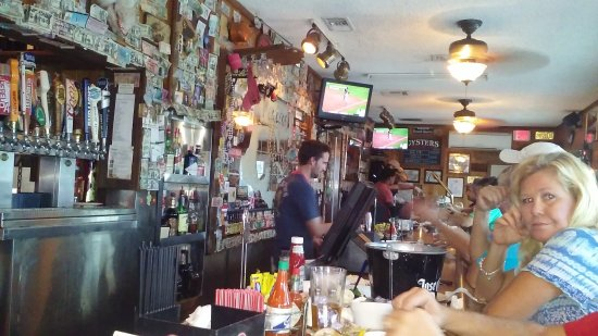 Peg Leg Pete's: View at the bar