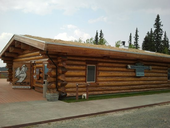 Teslin visitor center,Yukon Territories canada