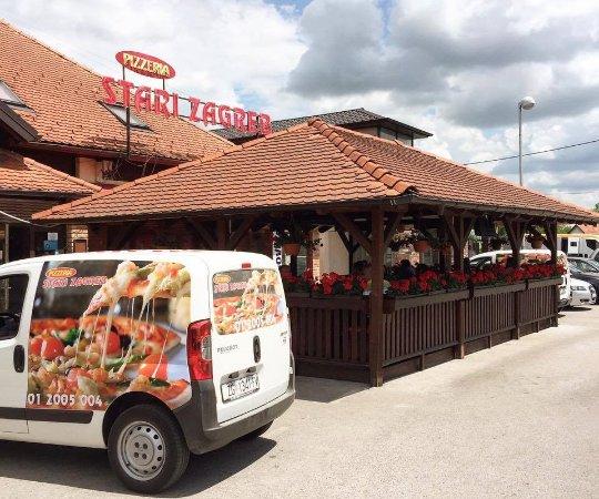 Stari Zagreb Pizzeria - terrace