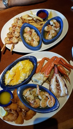 Red Lobster: Our delicious fish meal