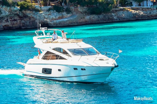 "Port de Soller, Spain: Motorboat charters, ""Perfection"" yacht"