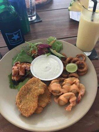 Cafe Sardinia: Seafood Platter